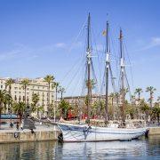 Au port de Barcelone