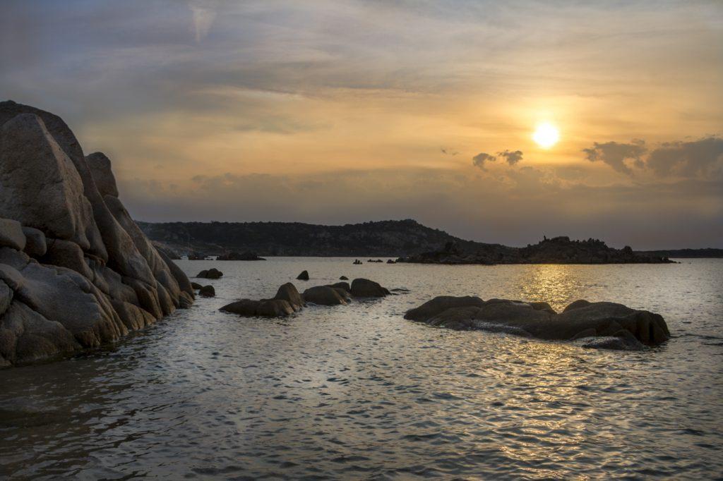 Coucher de soleil sur la Maddalena