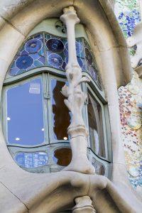 fenêtre de la casa Batllo
