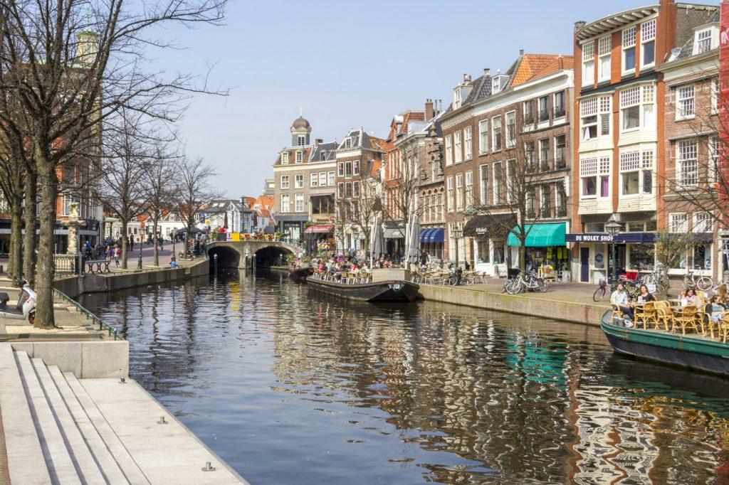 Centre ville de Leiden