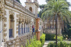 Des balcons à l'Alcázar