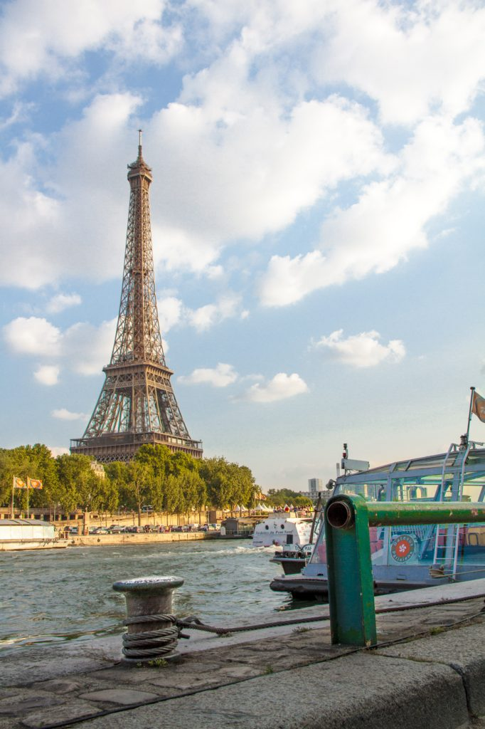 Tour Eiffel depuis la Seine