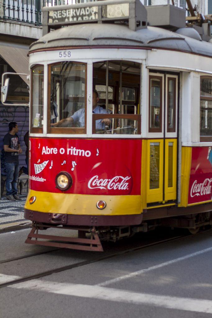 Tram Lisbonne