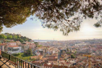 Vue sur Lisbonne depuis l'Alfama