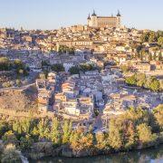 Vue panoramique sur Toledo
