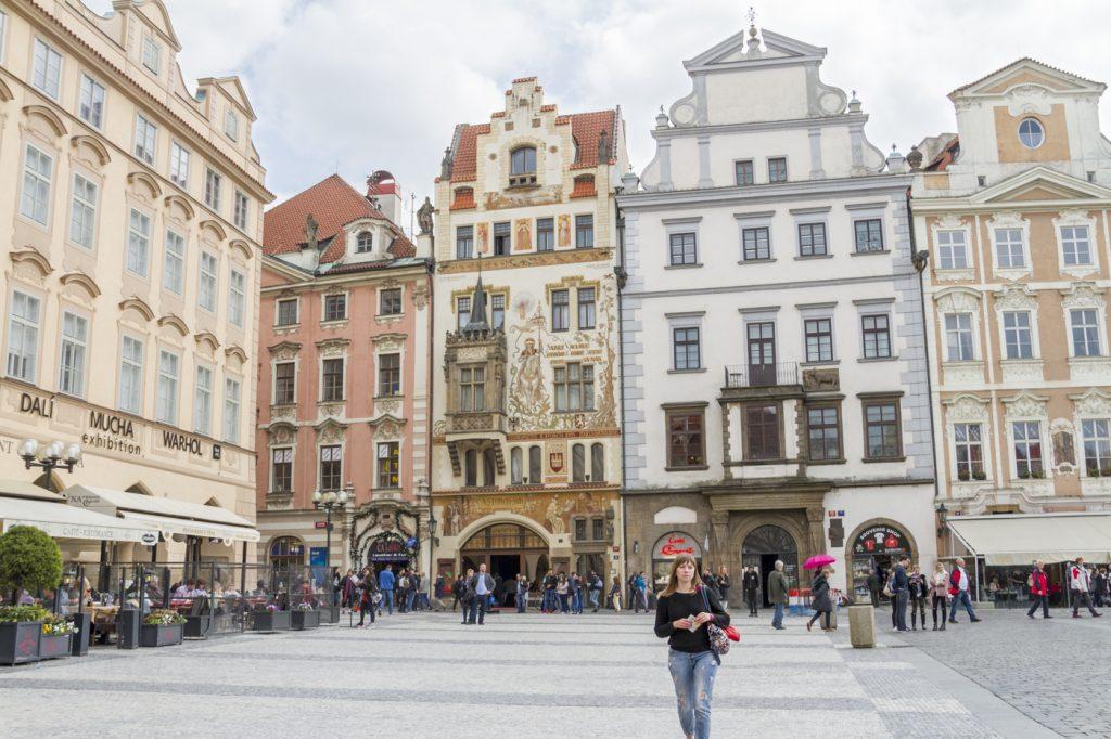 Staré Město, centre historique de Prague
