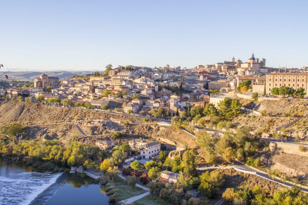 Coucher de soleil à Tolède