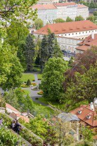 Vue depuis le château de Prague