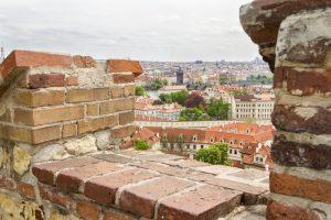 Prague depuis les remparts du château