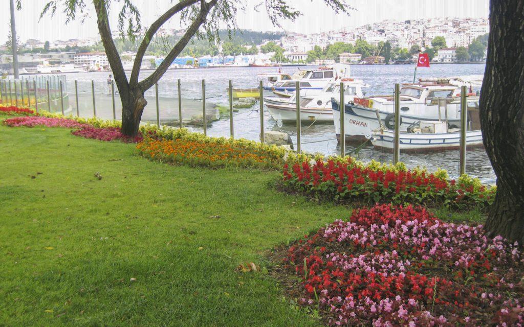 Jardin sur le Bosphore
