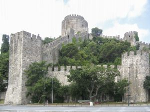 Anciens remparts d'Istanbul