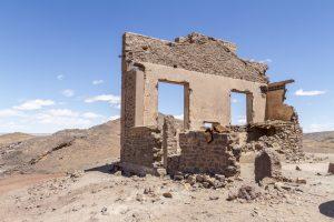 Le village en ruines de Merzouga
