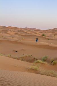 Bédouin dans le désert