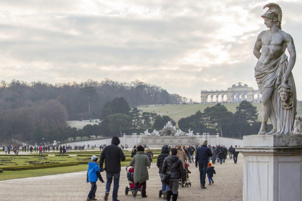 Jardins de Schönbrunn et gloriette