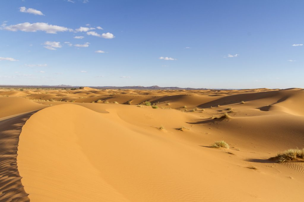 Panorama désert de Merzouga