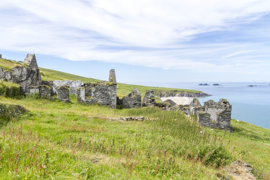 Ruines aux Blasket islands