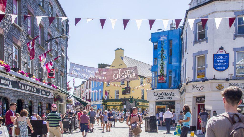 Quartier latin de Galway