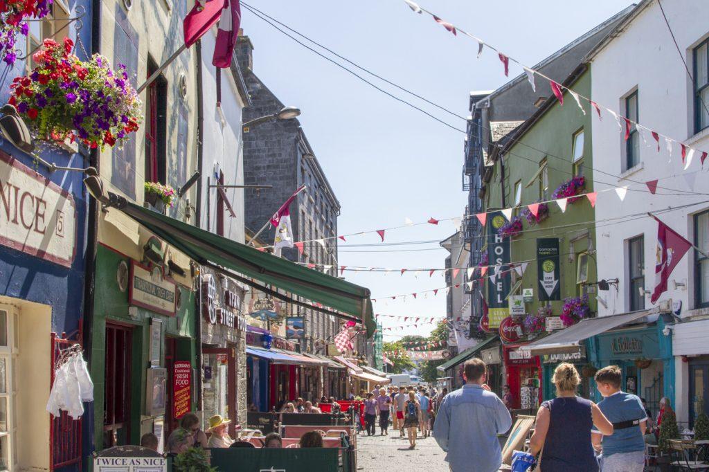Quay street à Galway