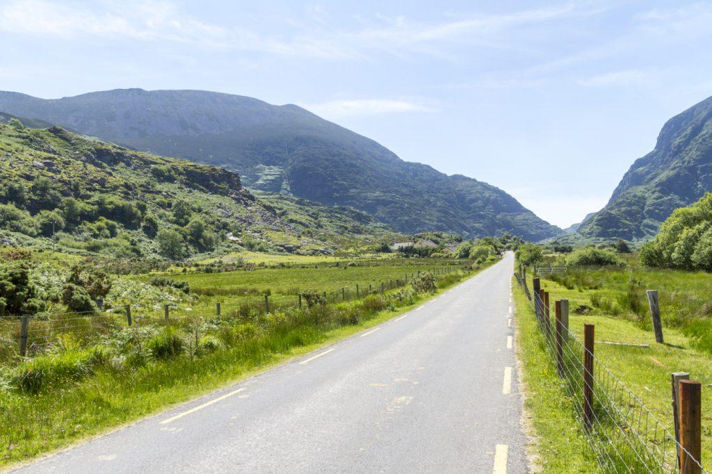 Route dans le Kerry