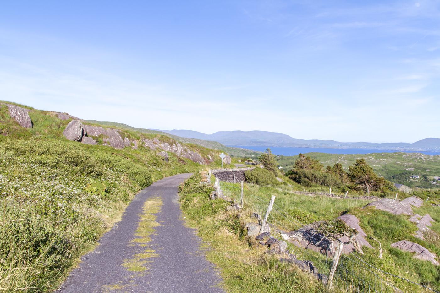 Route dans la Wild Atlantic Way