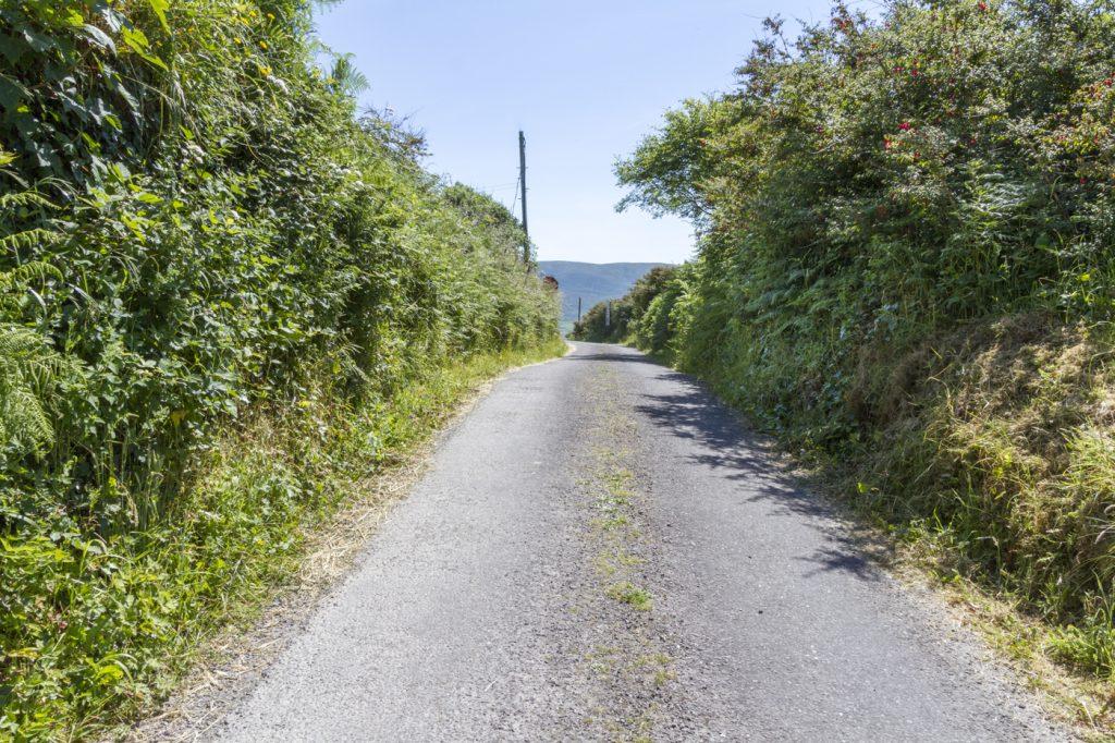 Petite route dans le Skellig Ring