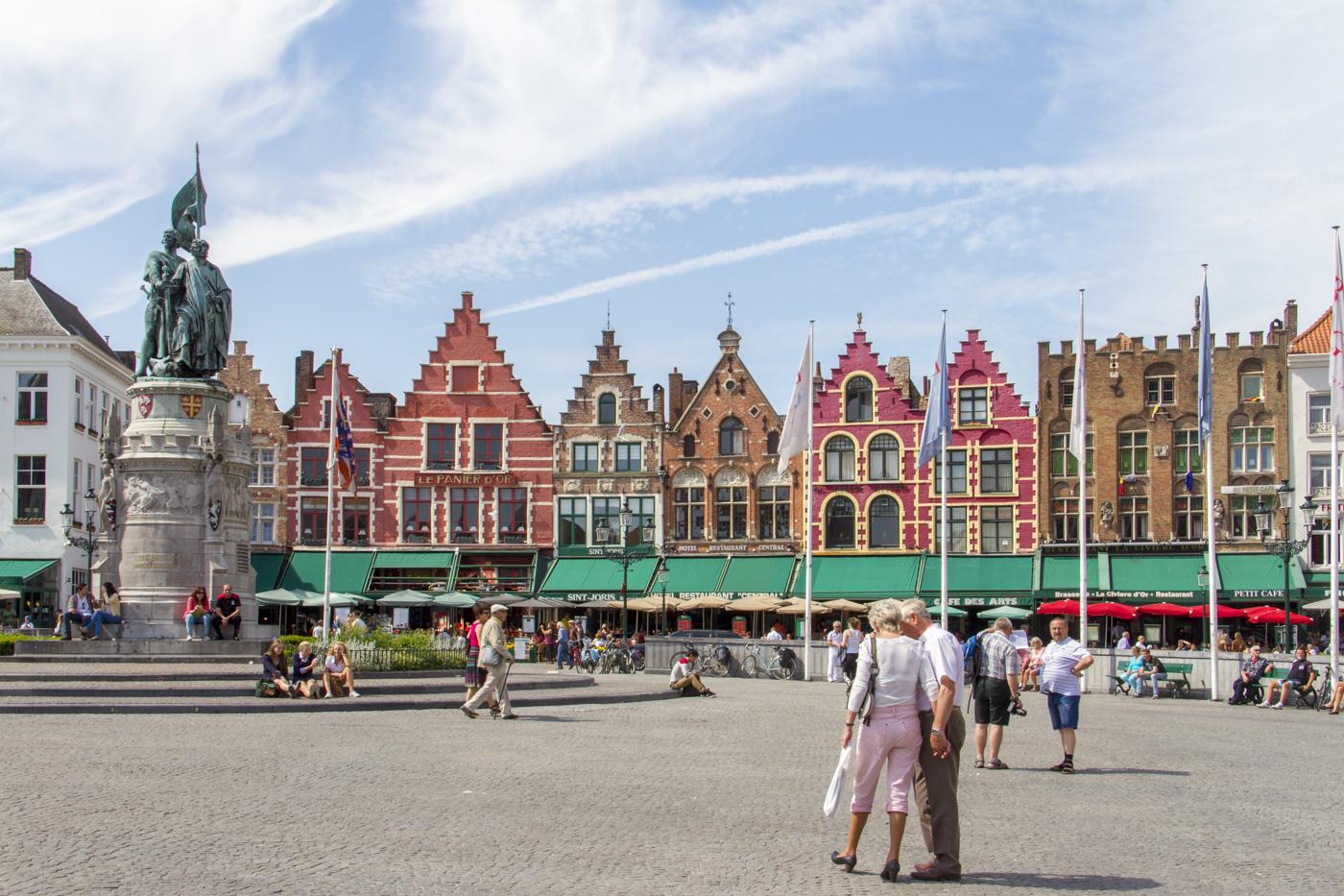 Markt à Bruges