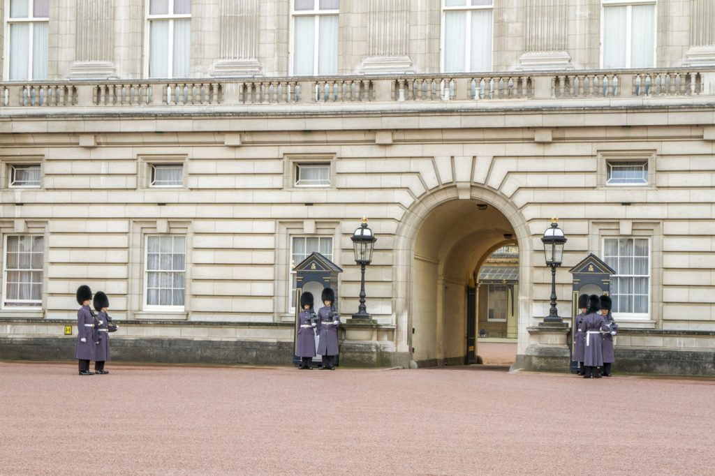Changement de gardes de Buckingham Palace