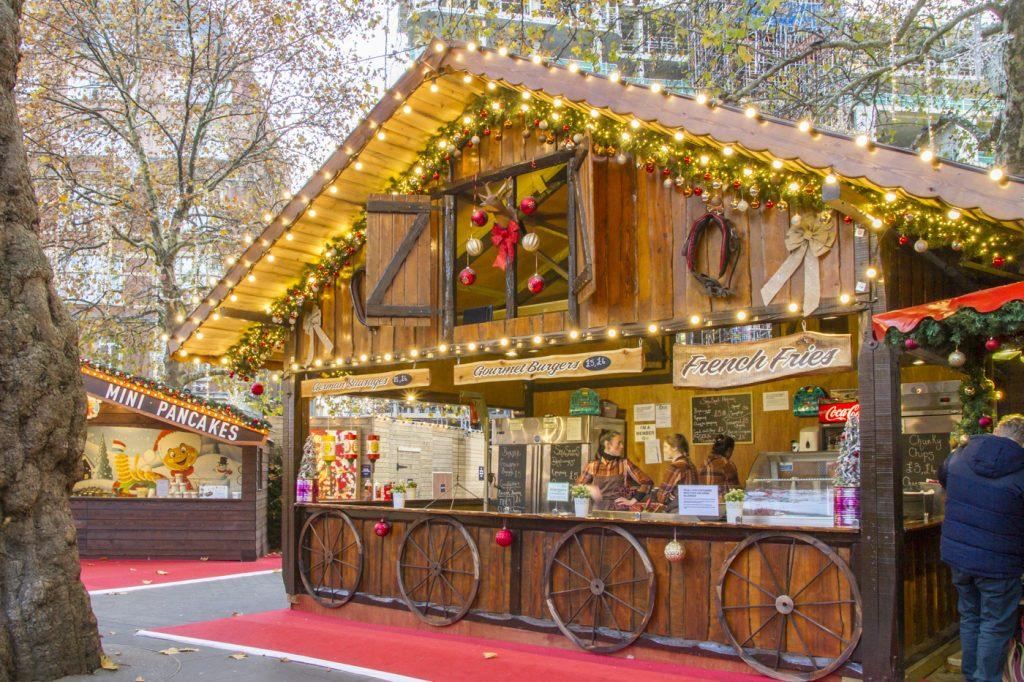 Marché de Noël à Londres