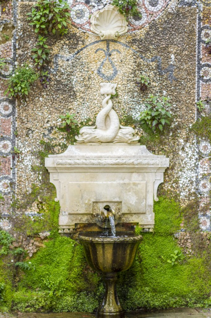 Fontaine à la Quinta da Regaleira