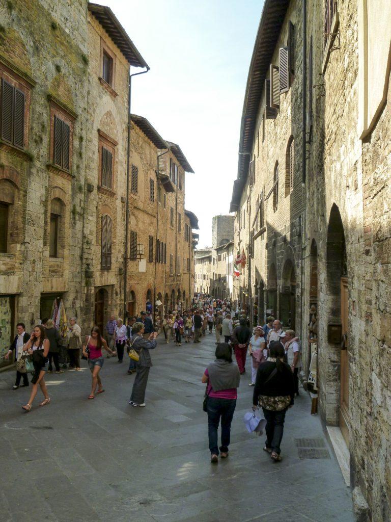 Ruelle de San Gimignano