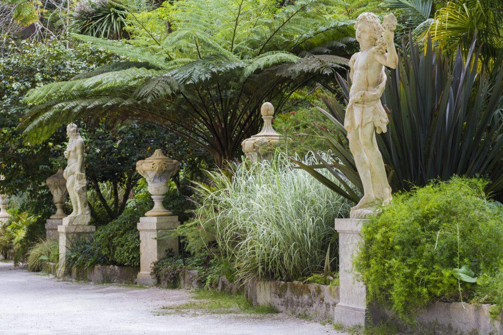 Statues à la Quinta da Regaleira