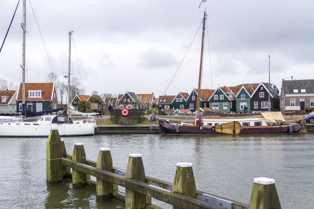 Marken et son port
