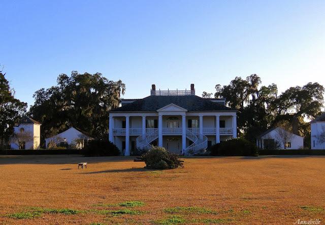 Plantation sudiste en Louisiane par Matantea