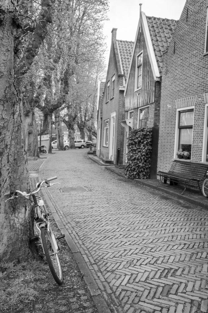 Vélo à Edam