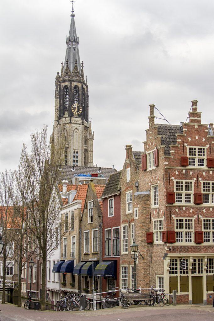 Dans les rue de Delft