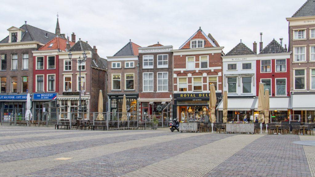 Centre ville de Delft (Markt)