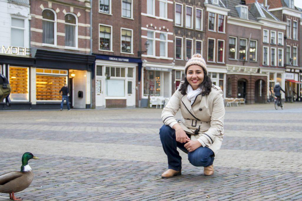 Moi à Delft