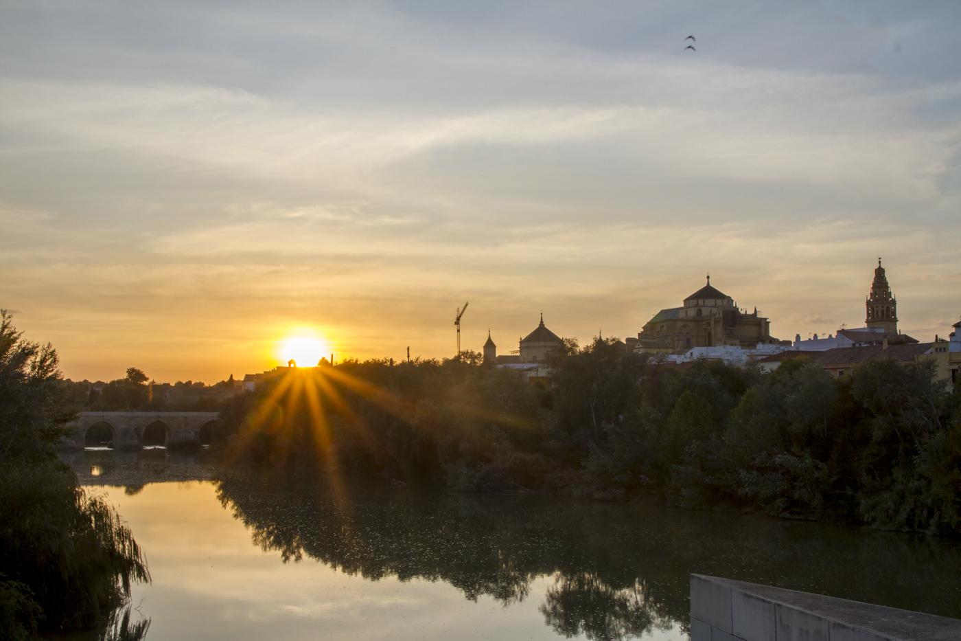 Coucher de soleil sur Cordoue