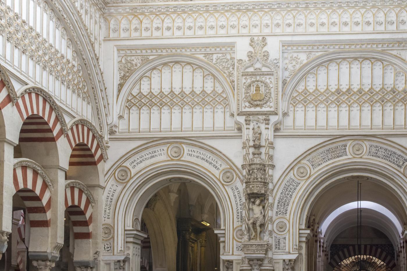 Mélange de styles à la Mosquée-Cathédrale de Cordoue
