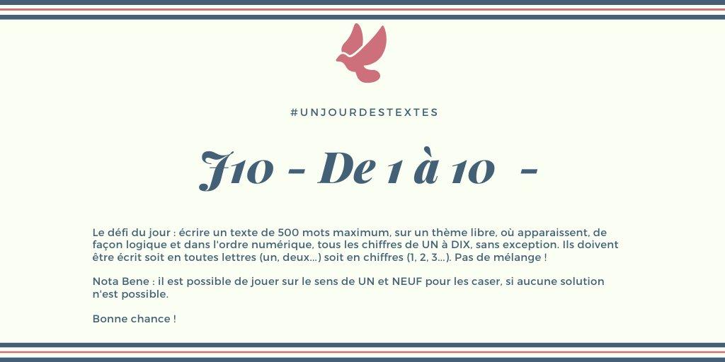 #unjourdestextes