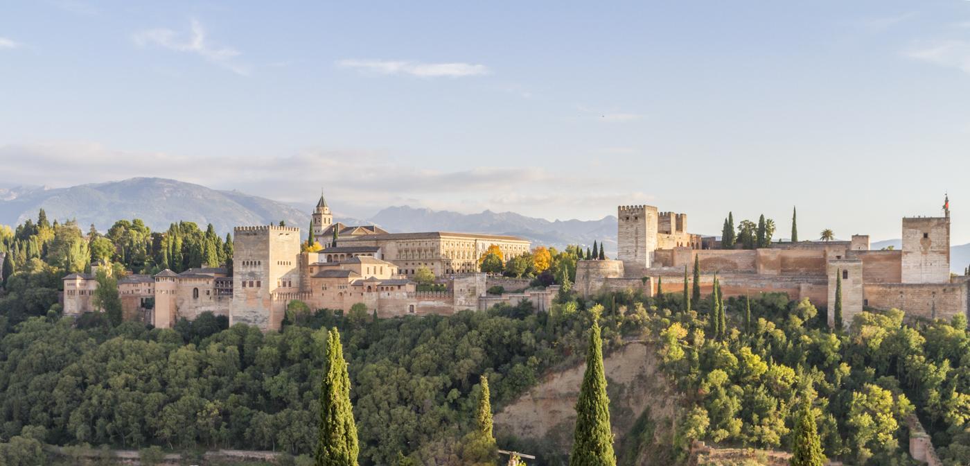 Alhambra de Grenade depuis San Nicolas