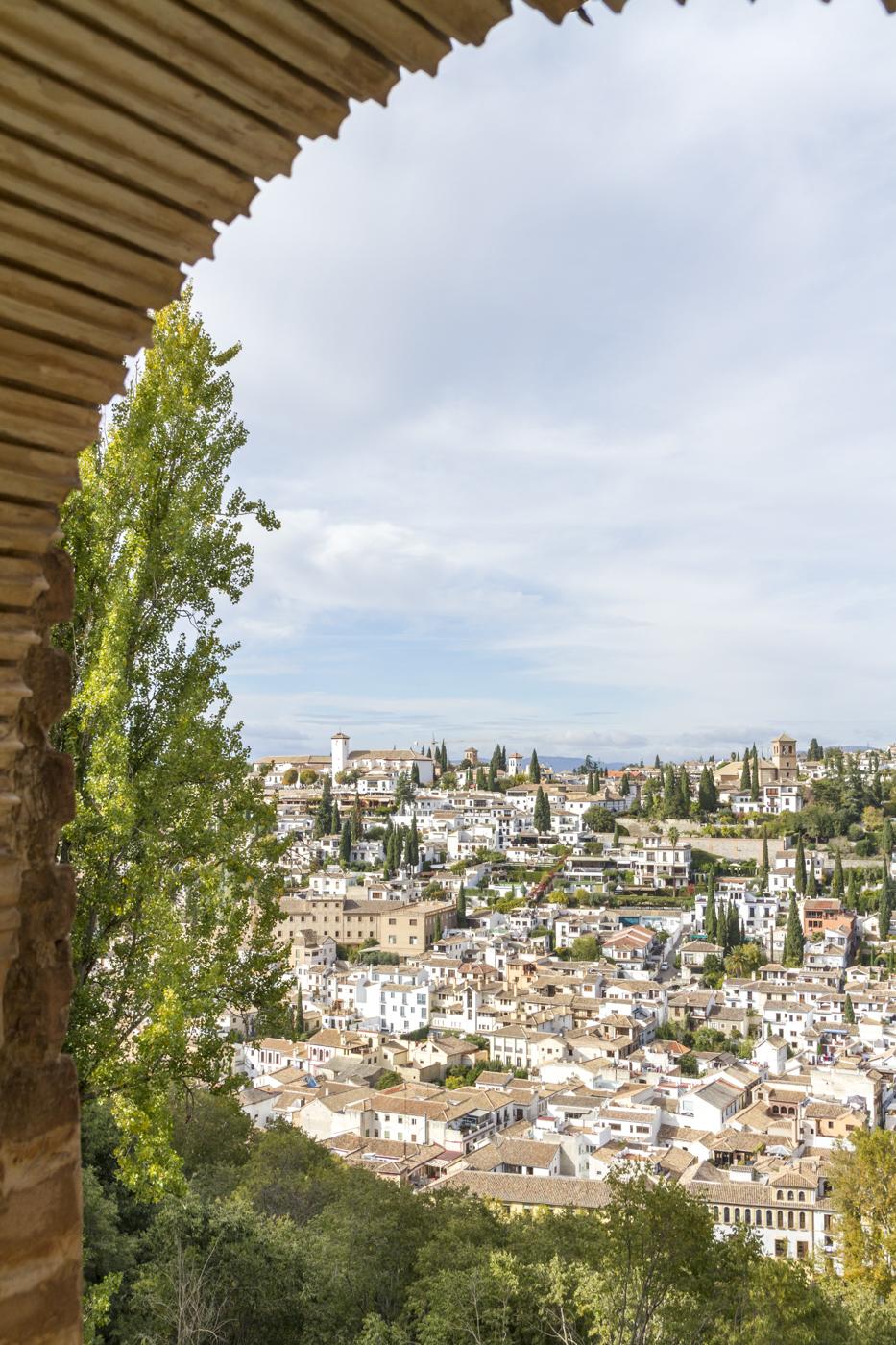Vue sur l'Albaycín