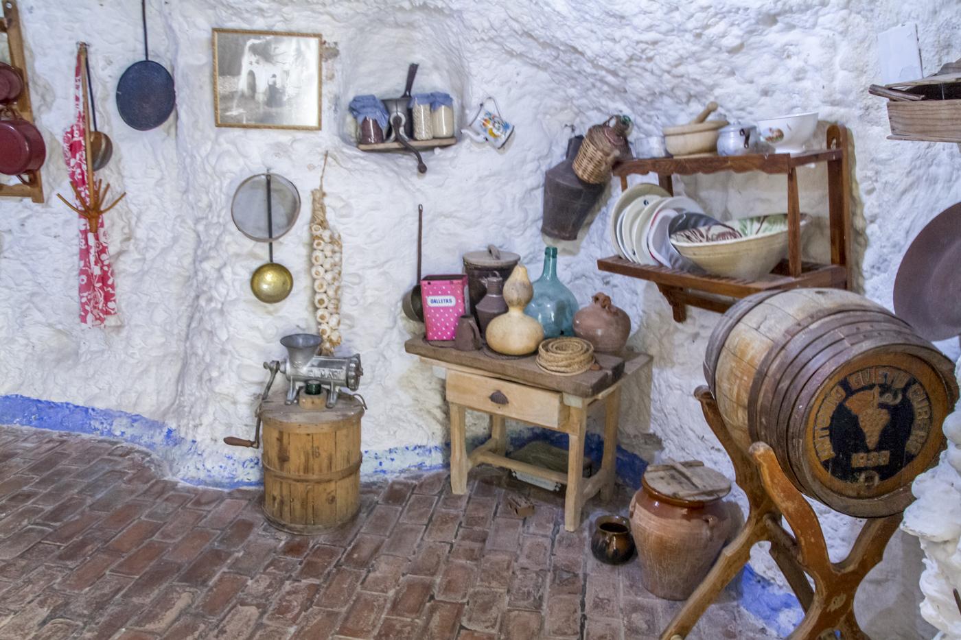 Cuevas du musée du Sacromonte
