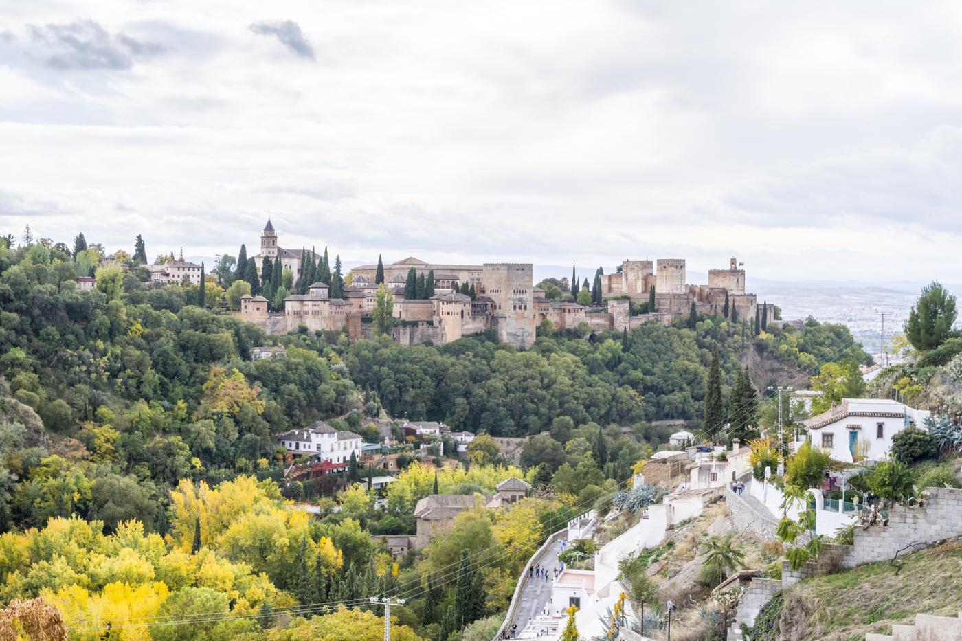 Panorama depuis le Sacromonte